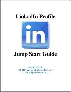 LinkedIn Profile Jump Start Guide